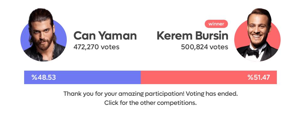Can Yaman vs Kerem Bursin